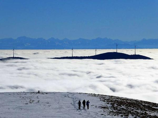 Über dem Nebelmeer (Belchen)