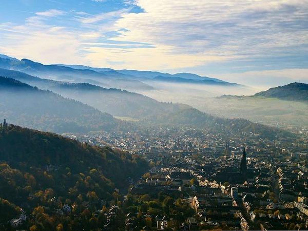 Freiburg aus der Luft