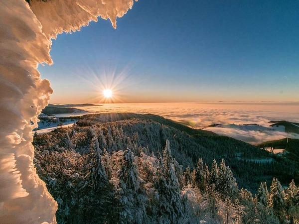 Eiszeit im Schwarzwald (Schauinsland)