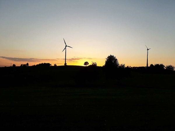 Sonnenuntergang in Freiamt