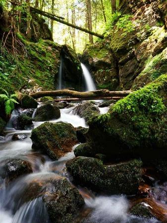 Wasserfall im Murgtal