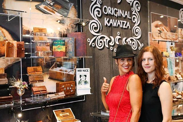 Im Original Kavatza in der Schusterstraße gibt es Hanfkaffee und Jointtaschen