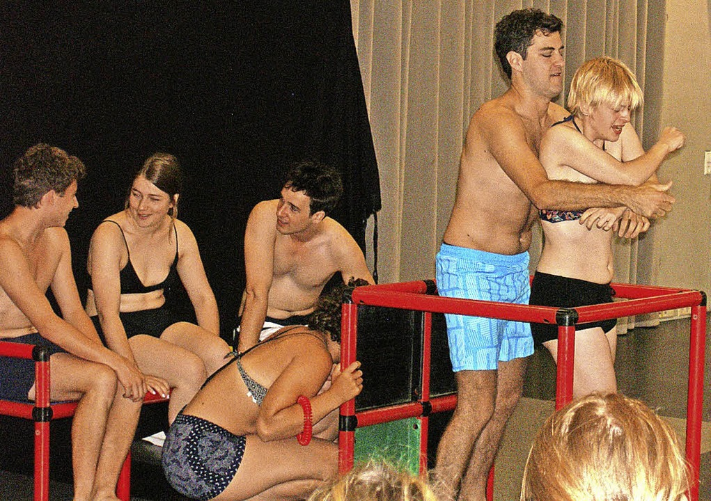 Was tun, wenn einem jemand zu nahe tritt? Das Theater zeigte es.     Foto: THG