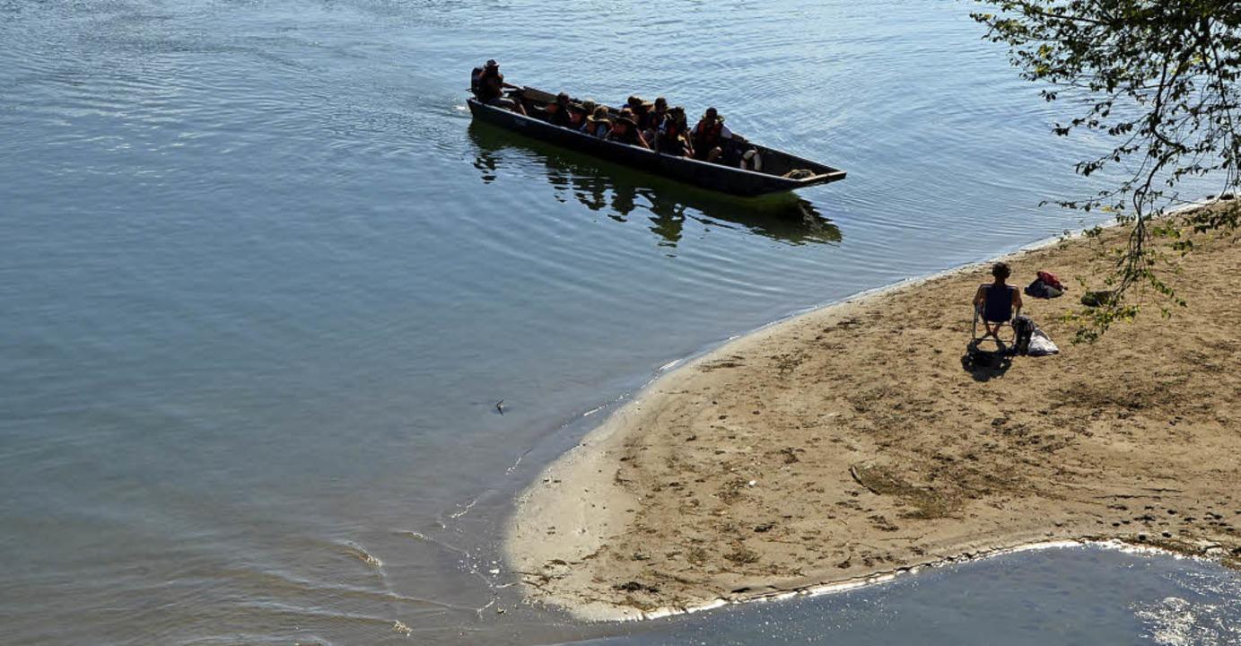 Ein sauberes Rheinufer wirkt  einladend und zeigt Respekt vor der Natur.   | Foto: Ingrid Böhm-Jacob