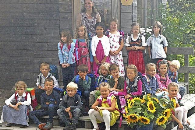 Viele neue Schüler