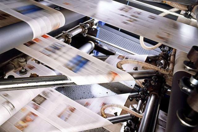 Erleben Sie das Druckzentrum der Badischen Zeitung und diskutieren Sie mit einem mit Vertreter der Chefredaktion!