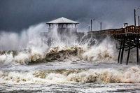 """Hurrikan """"Florence"""" bringt Sturmfluten an US-Ostküste"""