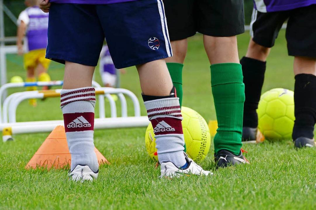 Damit auch morgen genügend Kinder mitk... Vereine heute schon Gedanken machen.   | Foto: Louis Gross