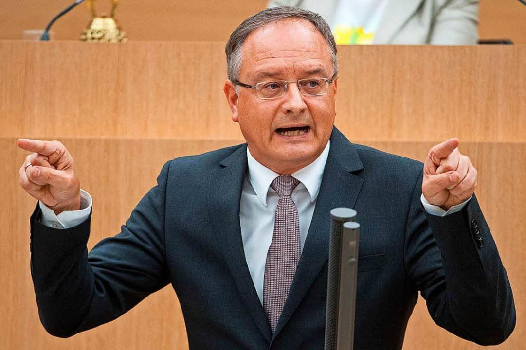 Andreas Stoch, Vorsitzender der SPD-Fr...tag von Baden-Württemberg (Archivbild)  | Foto: dpa