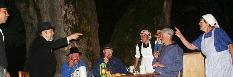 Die Breitnauer Bauernbühne lädt zur Sagen-Wanderung