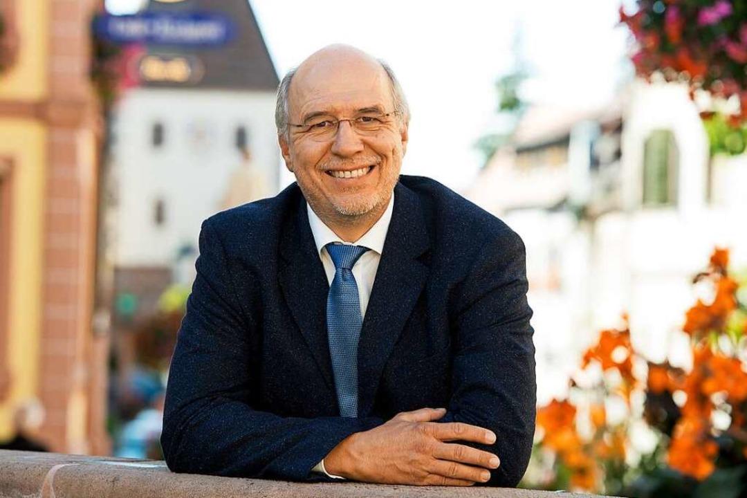 Der Freiburger Physiker und Politikwis...ie Nachfolge von Hans-Joachim Schwarz.  | Foto: Daniel Schoenen