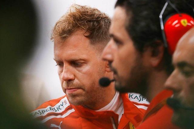 Vorzeitiges Trainings-Aus für Sebastian Vettel in Singapur