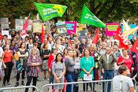 """""""Die Straße nicht den Rechten überlassen"""" – Demo in Stuttgart"""