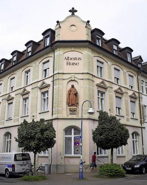 Die Albertusburse an der Ecke Klara-/Egonstraße.   | Foto: Thomas Kunz