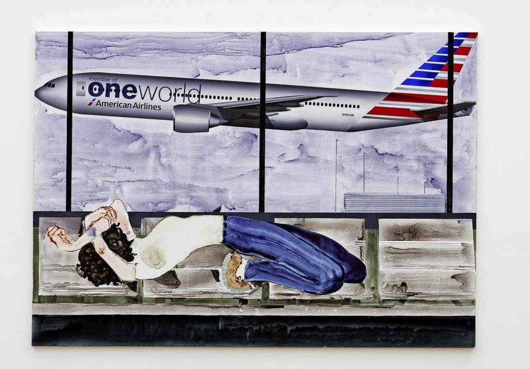 "Sanya Kantarovsky: ""One World"" (2018)   | Foto: philipp Hänger / kunsthalle Basel"