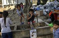 Flüchtlingslager im Chaos