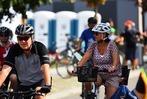 Fotos: Viel Verkehr beim Slow-up Basel-Dreiland 2018