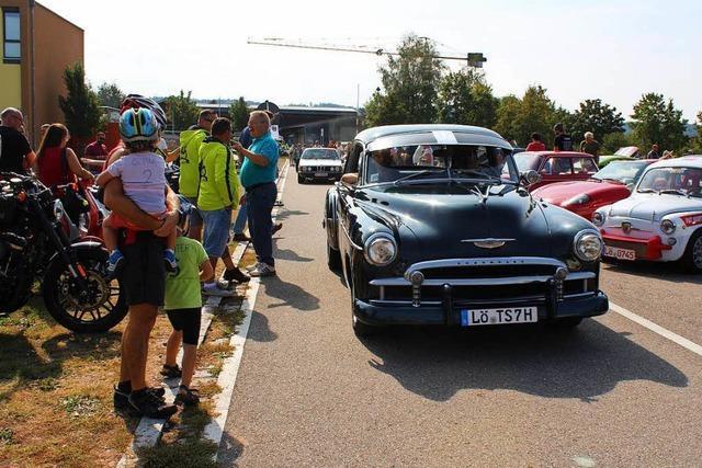 Fotos: Oldtimerspaß beim Slow-up in Rheinfelden