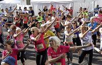 300 Läuferinnen und Läufer haben Spaß am Sport