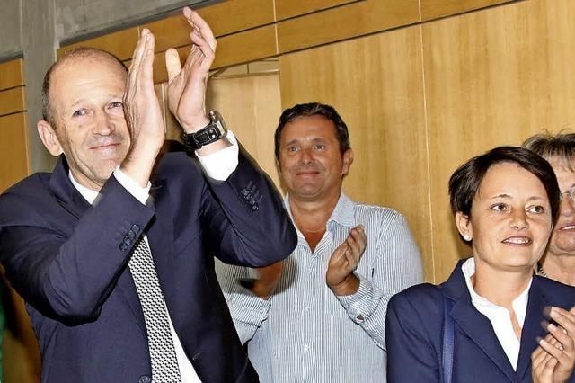 Behringer startet in zweite Amtszeit
