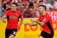 6 Tore, kein Sieger: Freiburg und Stuttgart trennen sich im Derby unentschieden