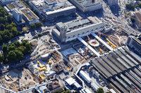 Der Tiefbahnhof Stuttgart21 ist zur Hälfte fertig
