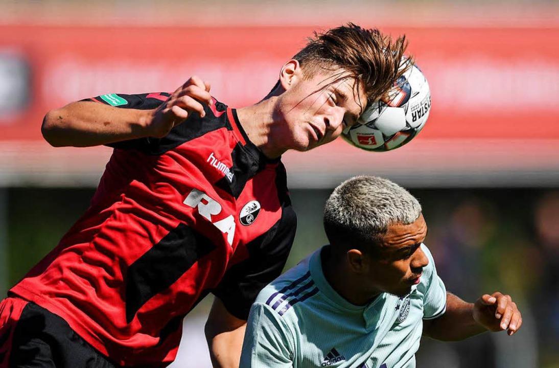 Der A-Jugend des SC Freiburg gelang ge...e Bayern eine unglaubliche Aufholjagd.  | Foto: Patrick Seeger