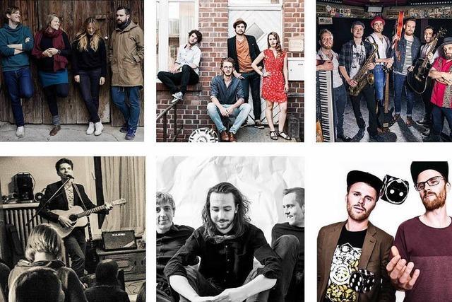 Die Freiburg Tapes mit 15 regionalen Bands erscheinen zum achten Mal