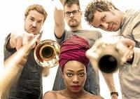 """Konzert des Jazztrios """"Three Fall"""" mit Sängerin Melane"""