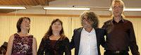 Vier Musiker sorgen für romantischen Melodientraum