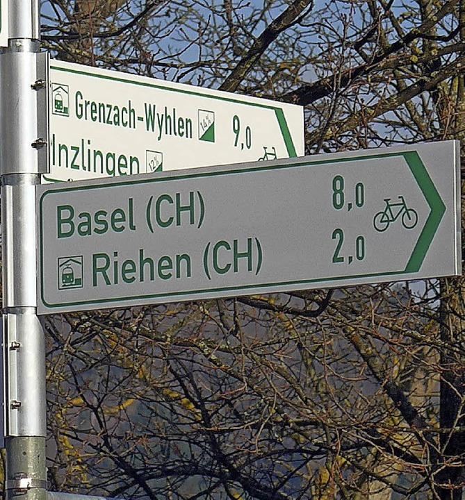 Das  Aggloprogramm fördert  im Kreis vor allen   Radwege.   | Foto: Gra
