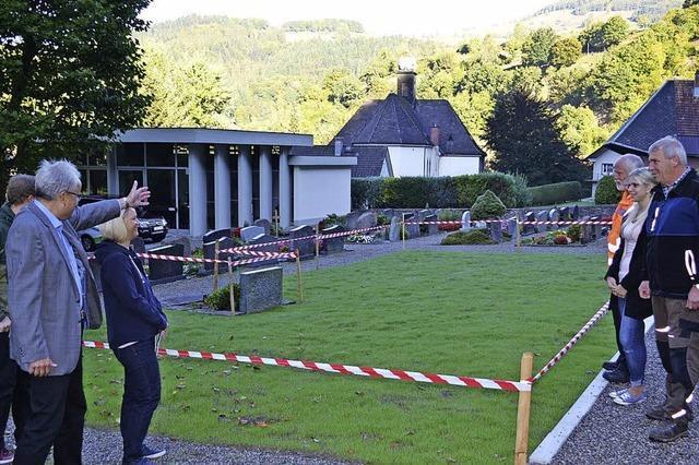 Mehr Grün für den Friedhof Atzenbach