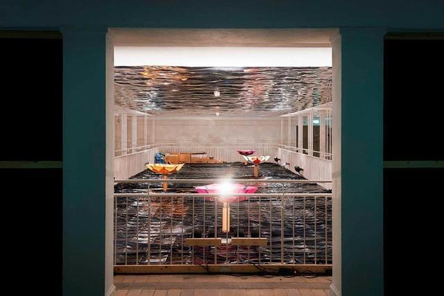 Installation von Lien und Camacho im Kunstverein Freiburg