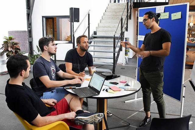 Wettbewerb in Freiburger Lokhalle gibt jungen Gründern Starthilfe