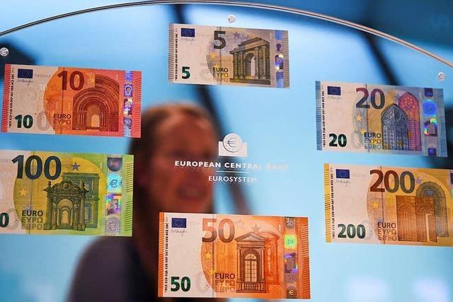 EZB stellt überarbeitete Euro-Banknoten vor – neue Scheine ab Mai