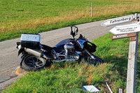 Tödlicher Unfall in Breitnau: Polizei sucht weiteren Motorradfahrer als Zeugen