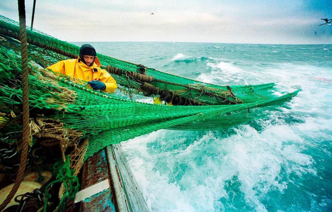 Fischer auf hoher See.   | Foto: dpa
