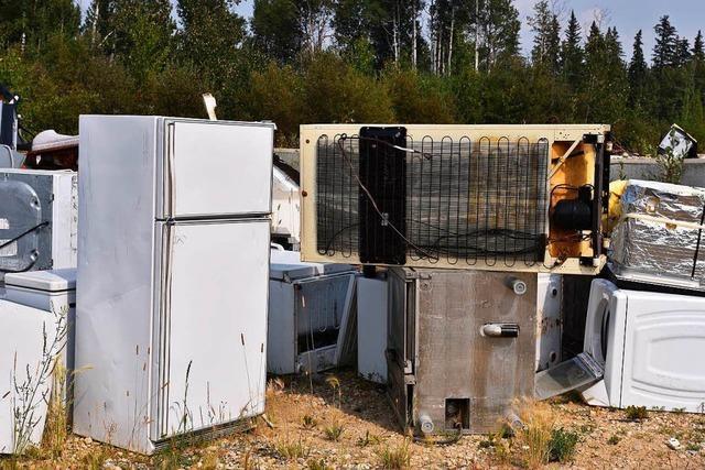 Moderne Kühlschränke für sozial schwache Menschen