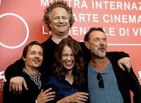 Regisseur und Darsteller präsentieren das Drama Werk ohne Autor