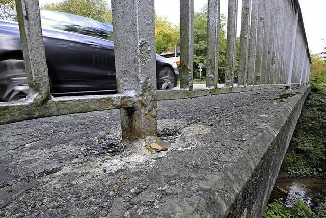 Zwei Brücken müssen saniert werden