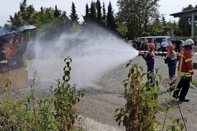 Auf den Gündlinger Feuerwehrnachwuchs ist Verlass