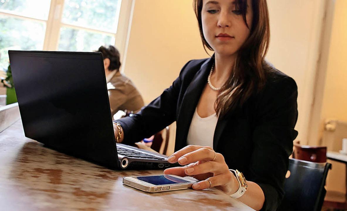 Die digitale Vernetzung hat sich die S...rwaltung zur Zukunftsaufgabe gemacht.   | Foto: Symbolbild: dpa