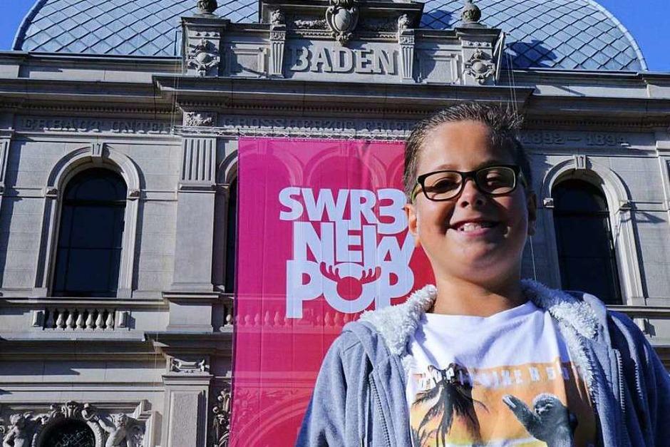 Hier löste Jakob seinen Gewinn ein: ein Erlebnistag mit dem SWR im Festspielhaus Baden-Baden. (Foto: Katrin Grünewald)