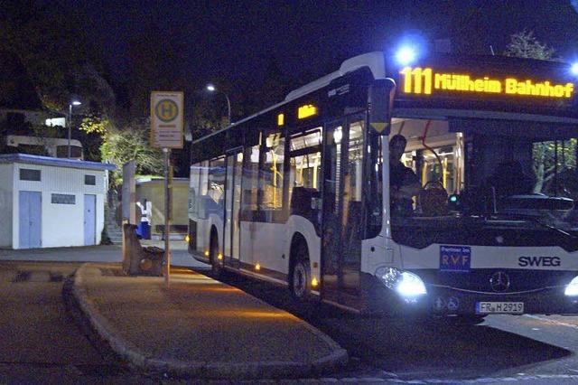 Geld für Spätbus und Mitternachtstaxi
