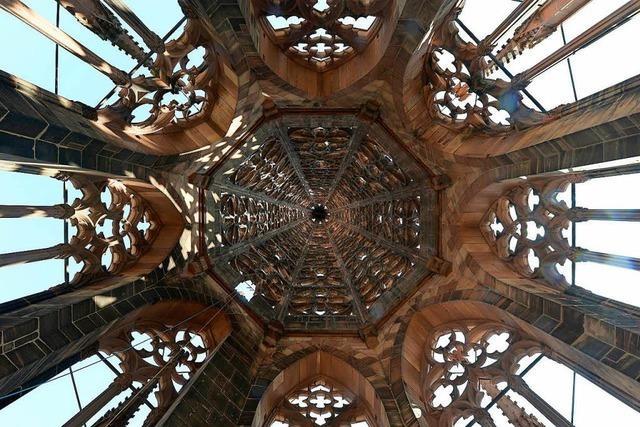 Bürger haben rund 6 Millionen Euro für die Sanierung des Münsterturms gespendet