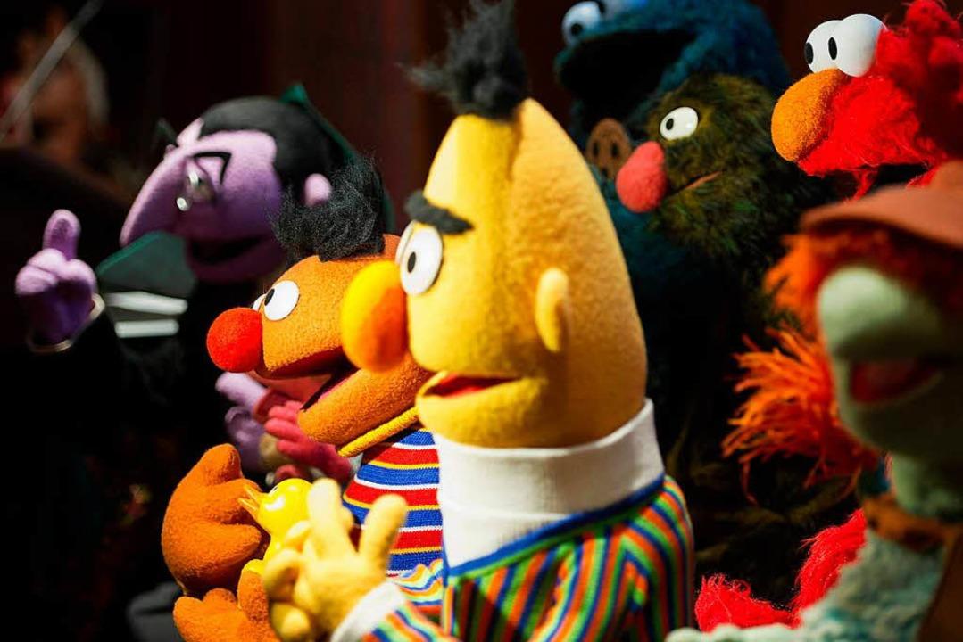 Ernie und Bert: Gegensätzliche Charaktere, die sich lieben.  | Foto: AFP