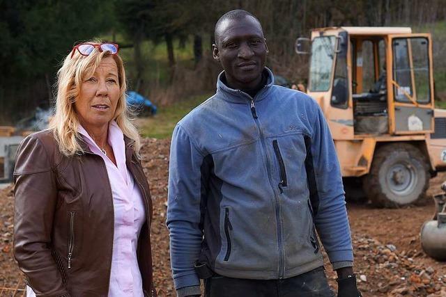 Unternehmerin kämpft dafür, dass Asylbewerber mit Arbeit bleiben