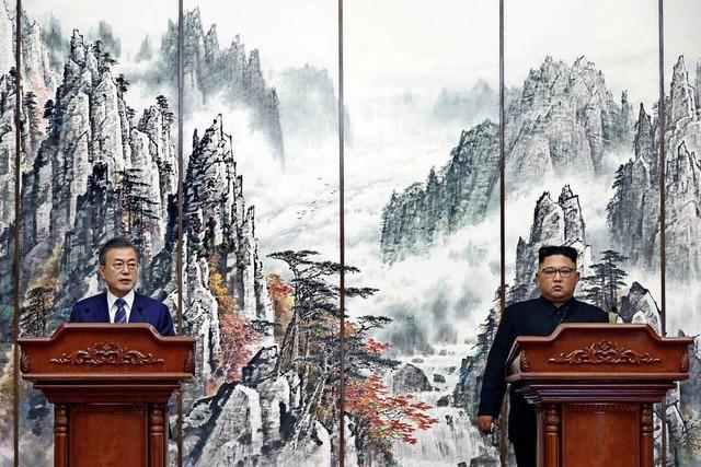 Annäherung in Pjöngjang