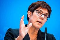 """Kramp-Karrenbauer: Bruch der Koalition """"stand konkret im Raum"""""""