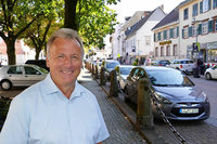 Rundgang mit Bürgermeisterkandidat Thomas Gsell